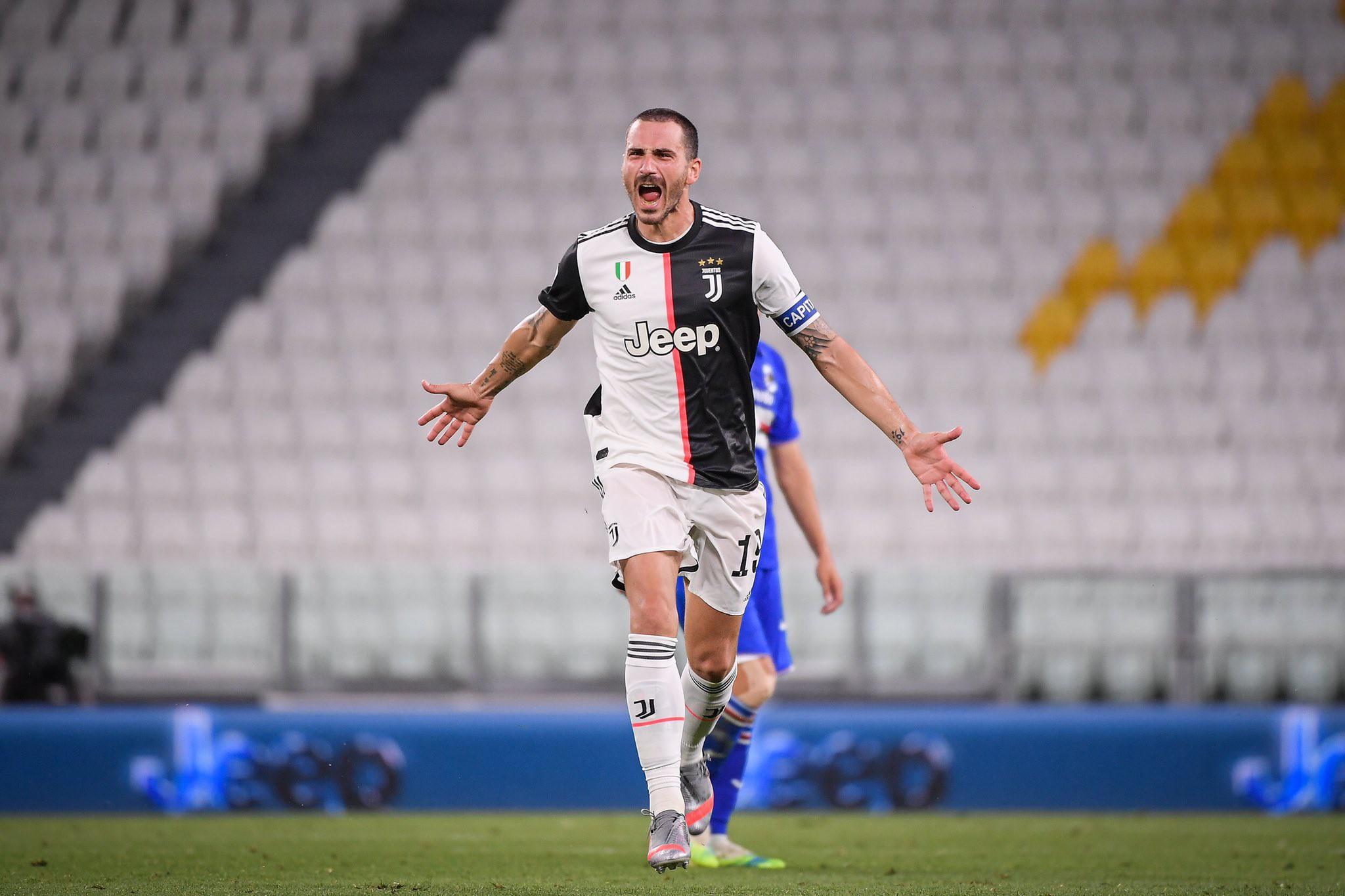 Juventus, le parole di Bonucci dopo il derby scuotono l'ambiente |  Sport e Vai