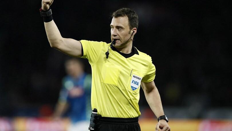 Champions, con l'arbitro di Juve-Lione precedente negativo |  Sport e Vai