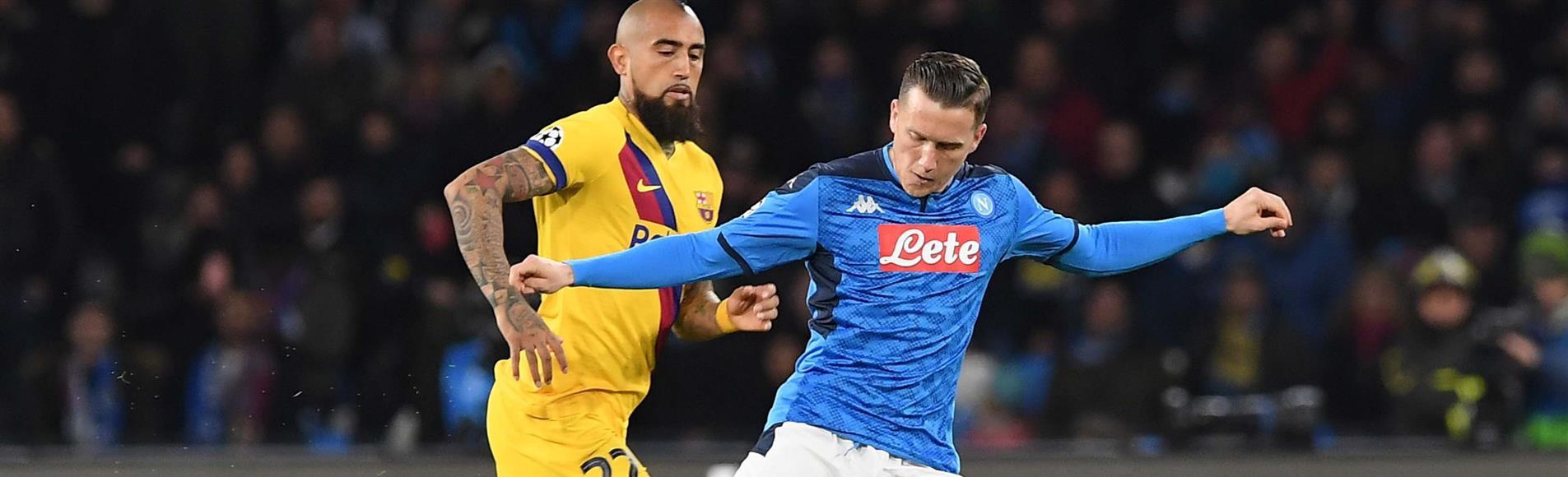 Anche il Napoli dice Thank You, ok a iniziativa Uefa |  Sport e Vai