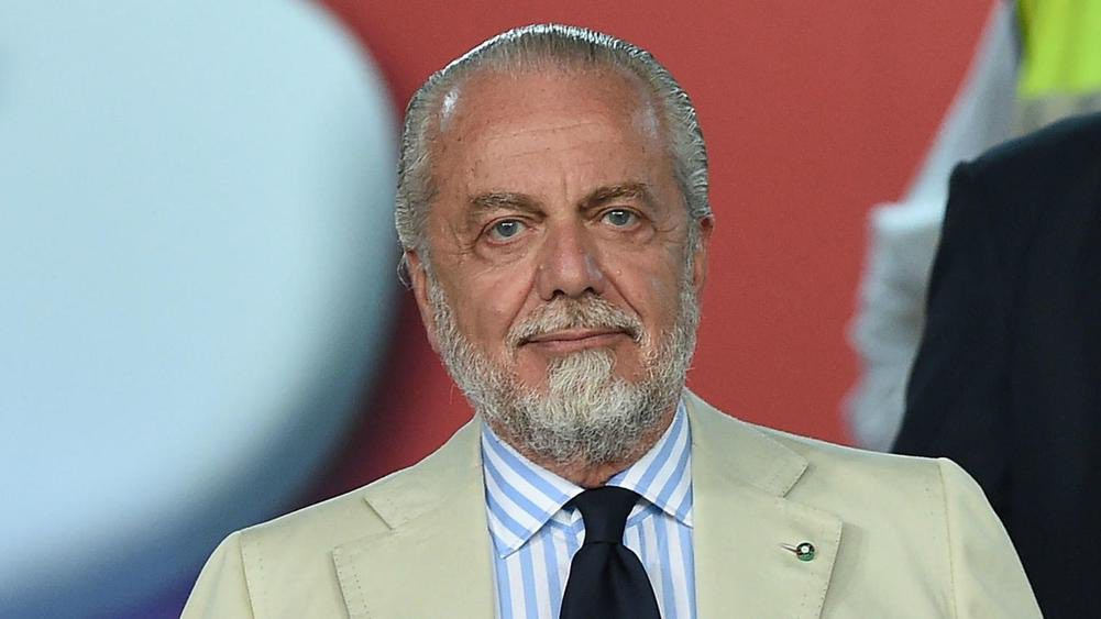 De Laurentiis positivo, arriva la nota del Napoli |  Sport e Vai