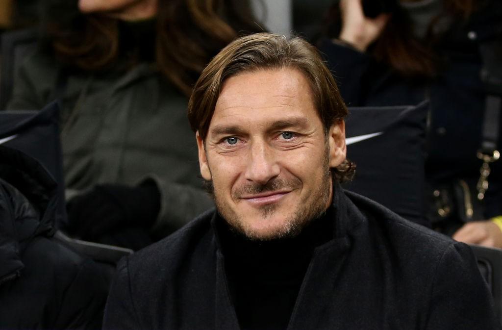 Morte Proietti, il commosso ricordo di Totti |  Sport e Vai
