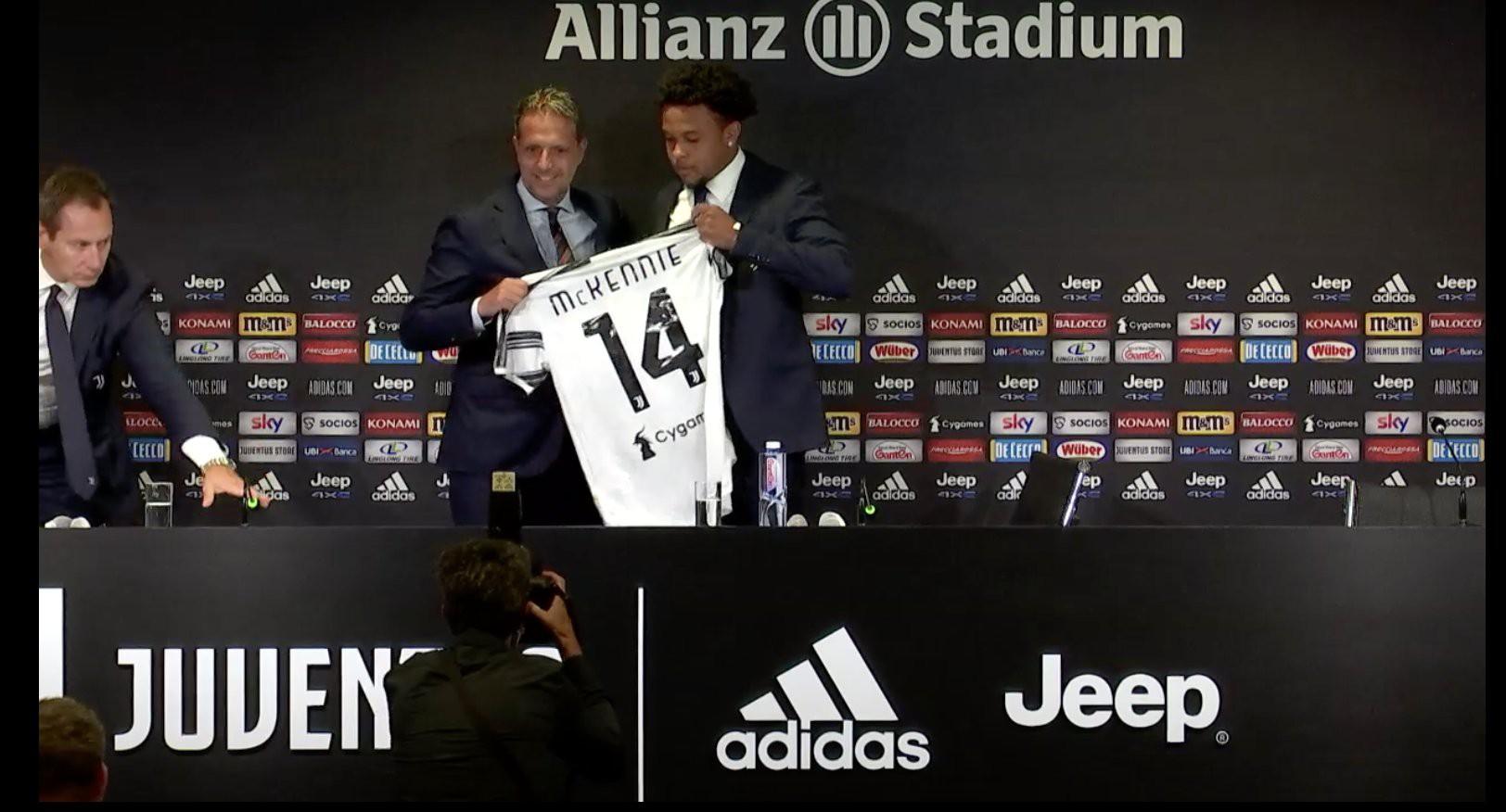 Juventus, McKennie: