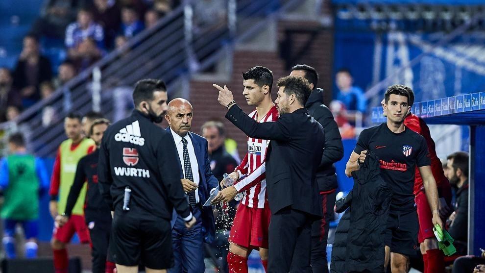 I motivi della rottura di Morata con Simeone |  Sport e Vai