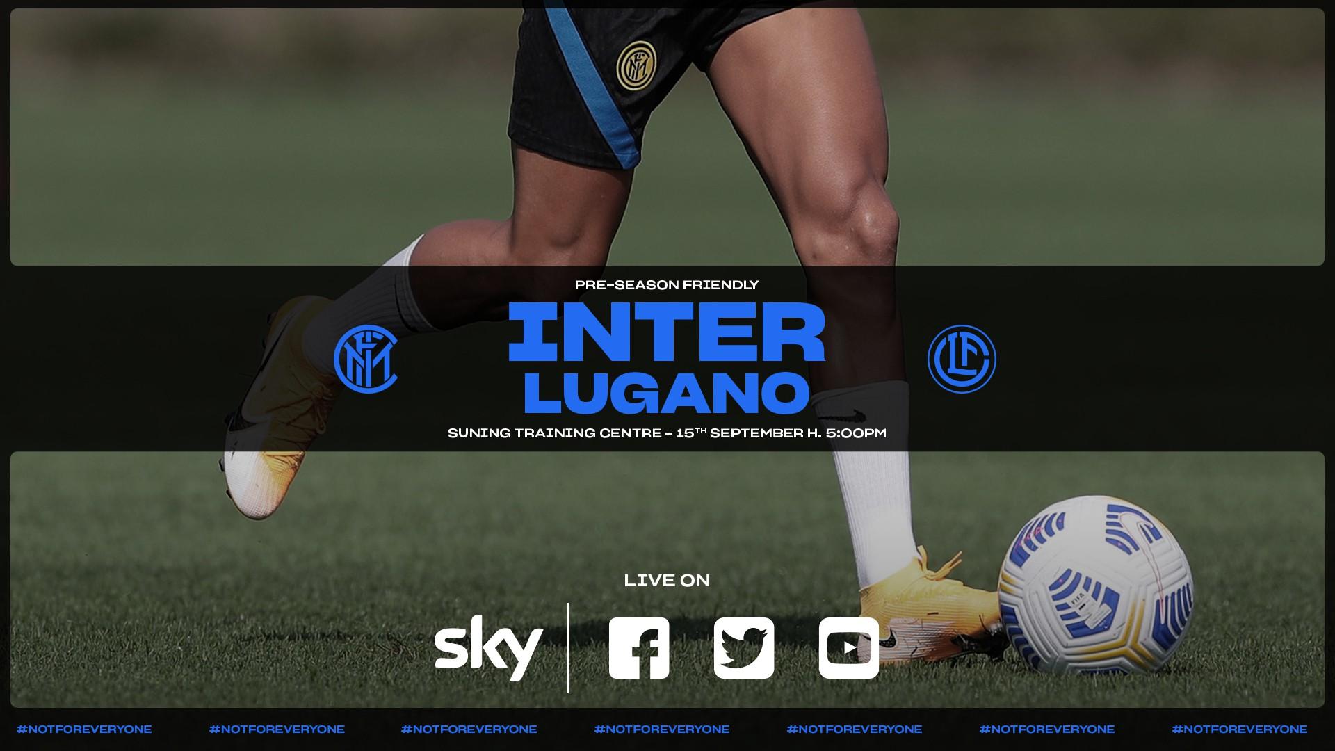 Inter-Lugano, formazioni ufficiali: Le scelte di Conte |  Sport e Vai