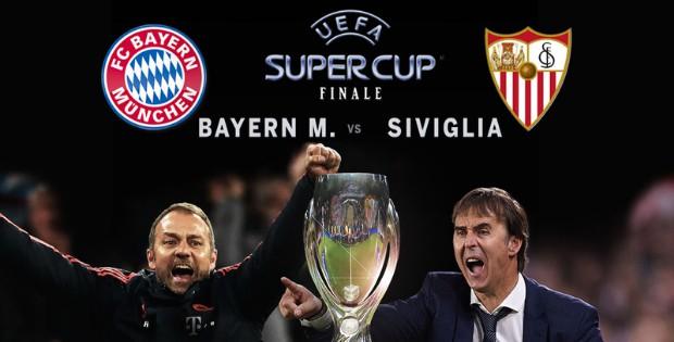 Tv: Dove vedere in diretta la Supercoppa Bayern-Siviglia    Sport e Vai