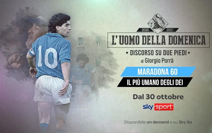 Tv: Stanotte su Sky omaggio per 60 anni Maradona |  Sport e Vai