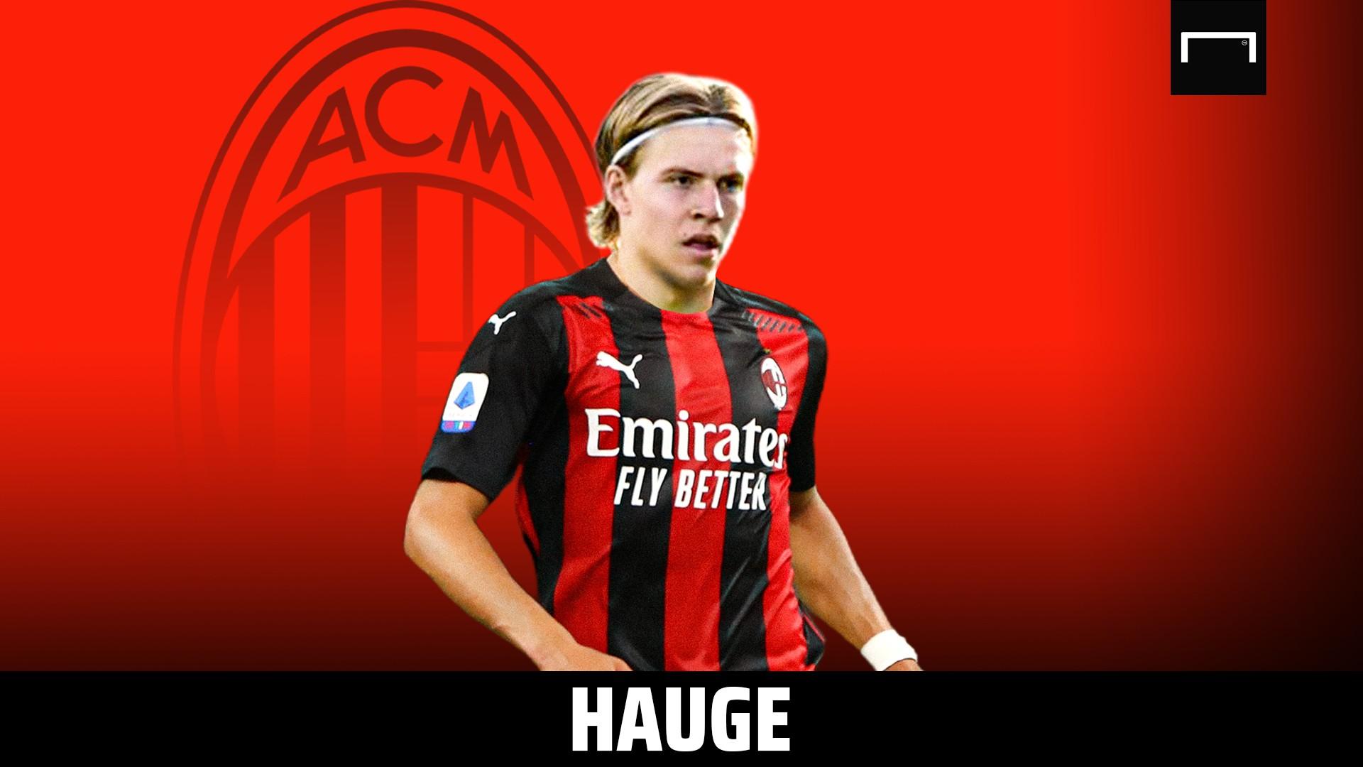 Hauge: Mi volevano club italiani, ecco quando è spuntato il Milan |  Sport e Vai