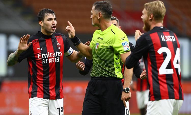 Disastro Giacomelli: Immediata sospensione dopo Milan-Roma |  Sport e Vai