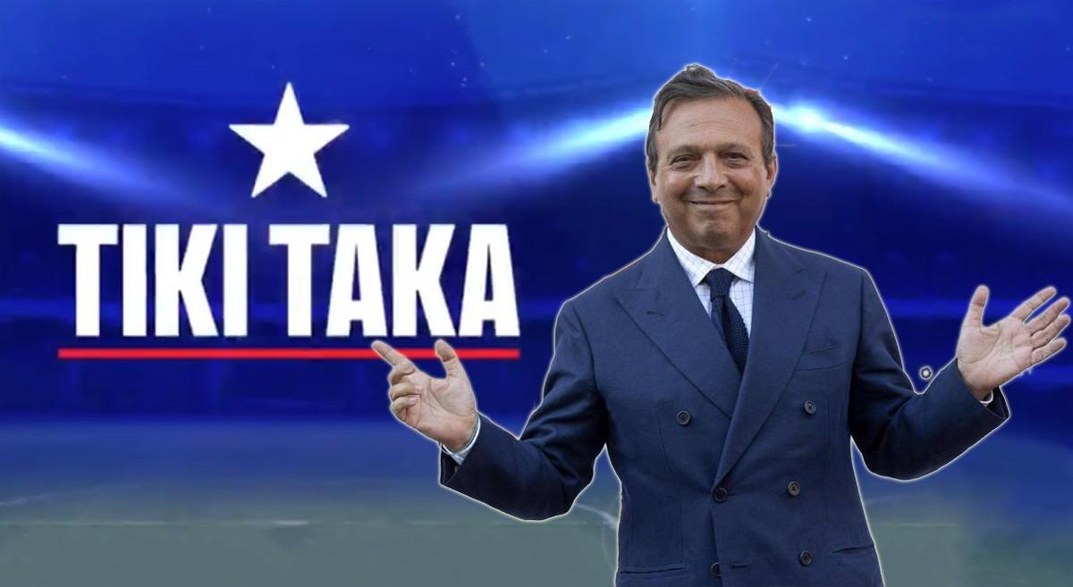 Tv: Gli ospiti di stasera a Tiki-Taka |  Sport e Vai