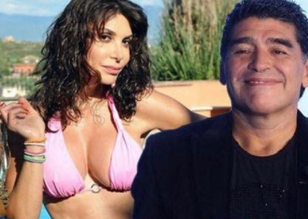 Carmen Di Pietro insiste: nuovi dettagli su flirt con Maradona |  Sport e Vai