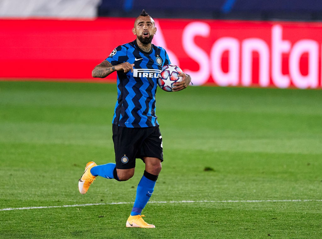 Inter, Vidal punta i piedi ma tifosi lo scaricano |  Sport e Vai