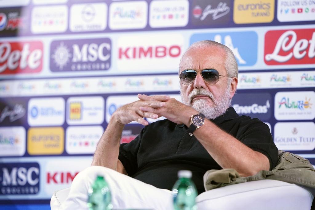 Maradona, l'iniziativa di De Laurentiis per Napoli-Rijeka |  Sport e Vai