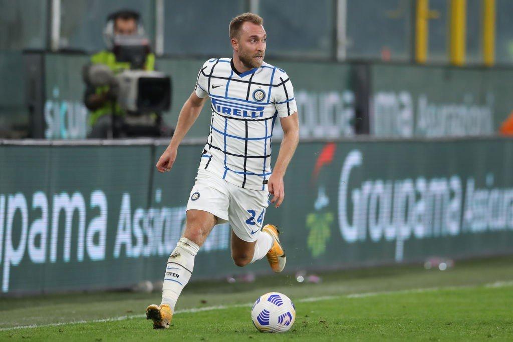 Inter, Eriksen regista: reazione dalla Danimarca    Sport e Vai