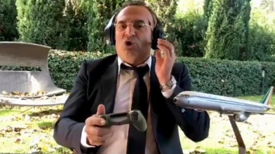 Max Giusti: Davvero siete offesi per video Lotito? |  Sport e Vai