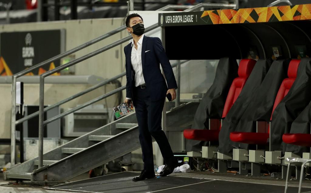 Zhang: 5 aggettivi per l'Inter e uno per Conte |  Sport e Vai