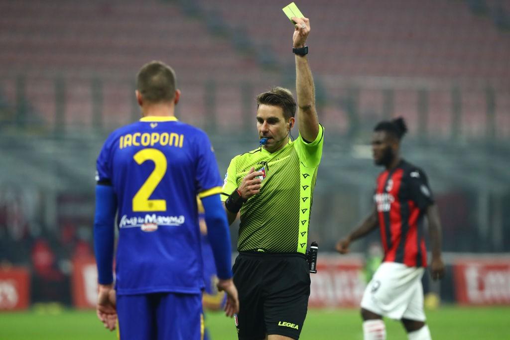 Marelli senza parole per l'arbitro di Milan-Parma |  Sport e Vai