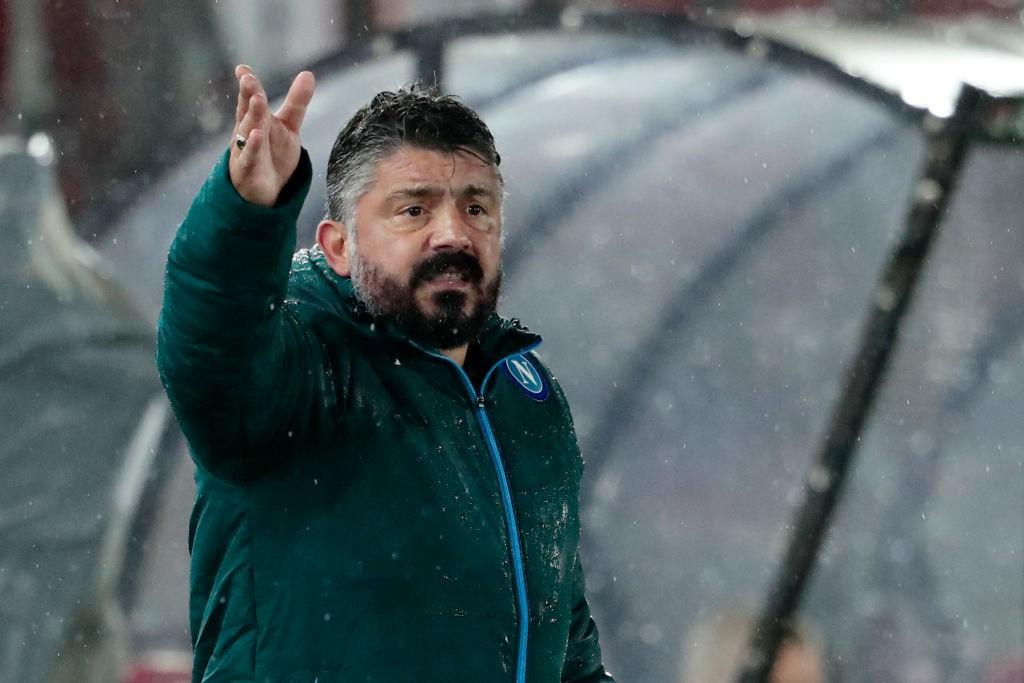 Napoli, Gattuso: Servono segnali forti     Sport e Vai