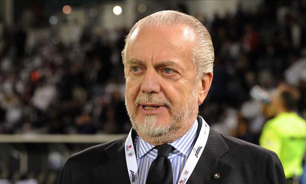 Napoli, l'indiscrezione: contatto tra De Laurentiis e grande ex |  Sport e Vai