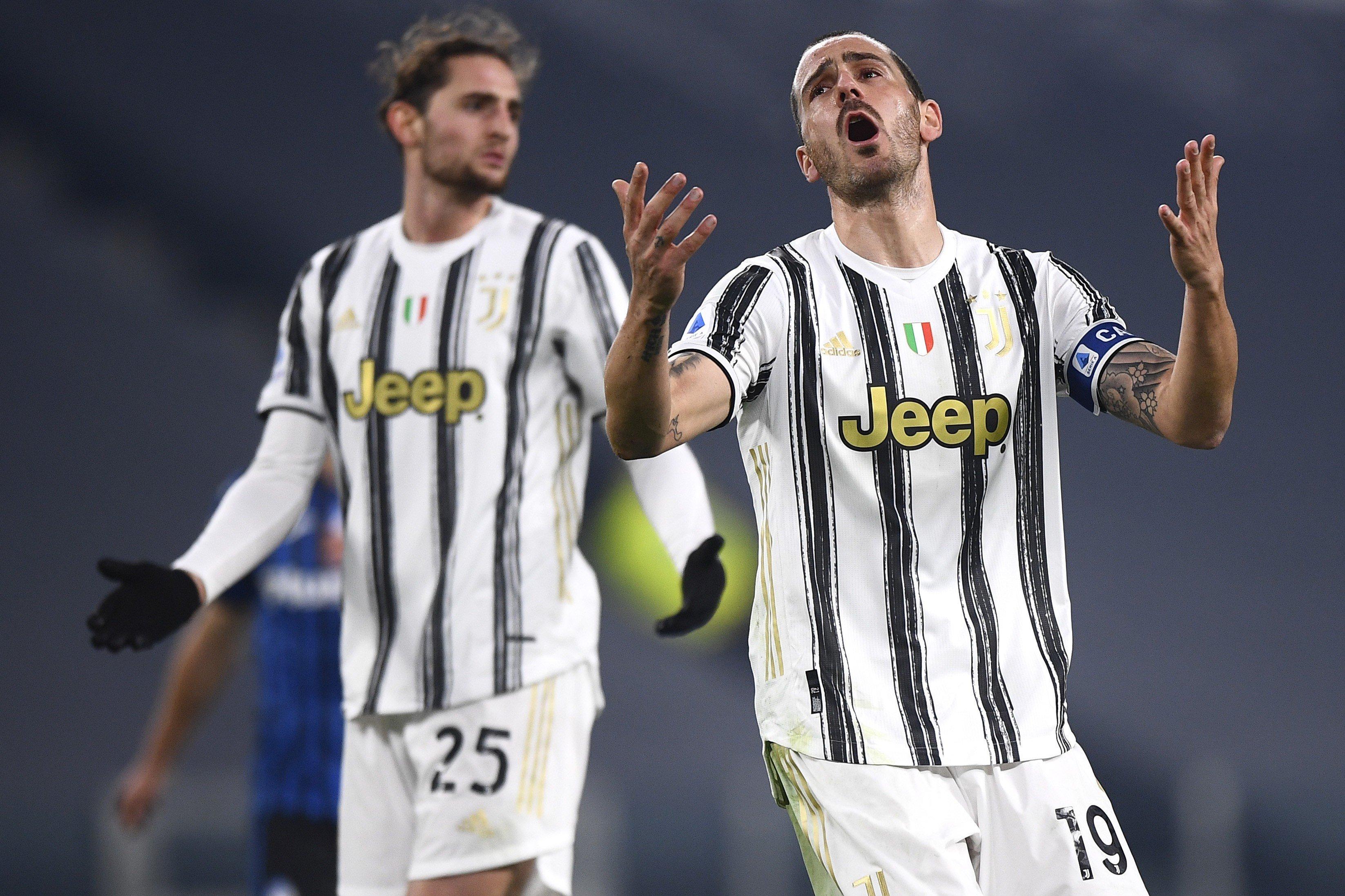 Bonucci affranto, a consolarlo è un ex Juve |  Sport e Vai