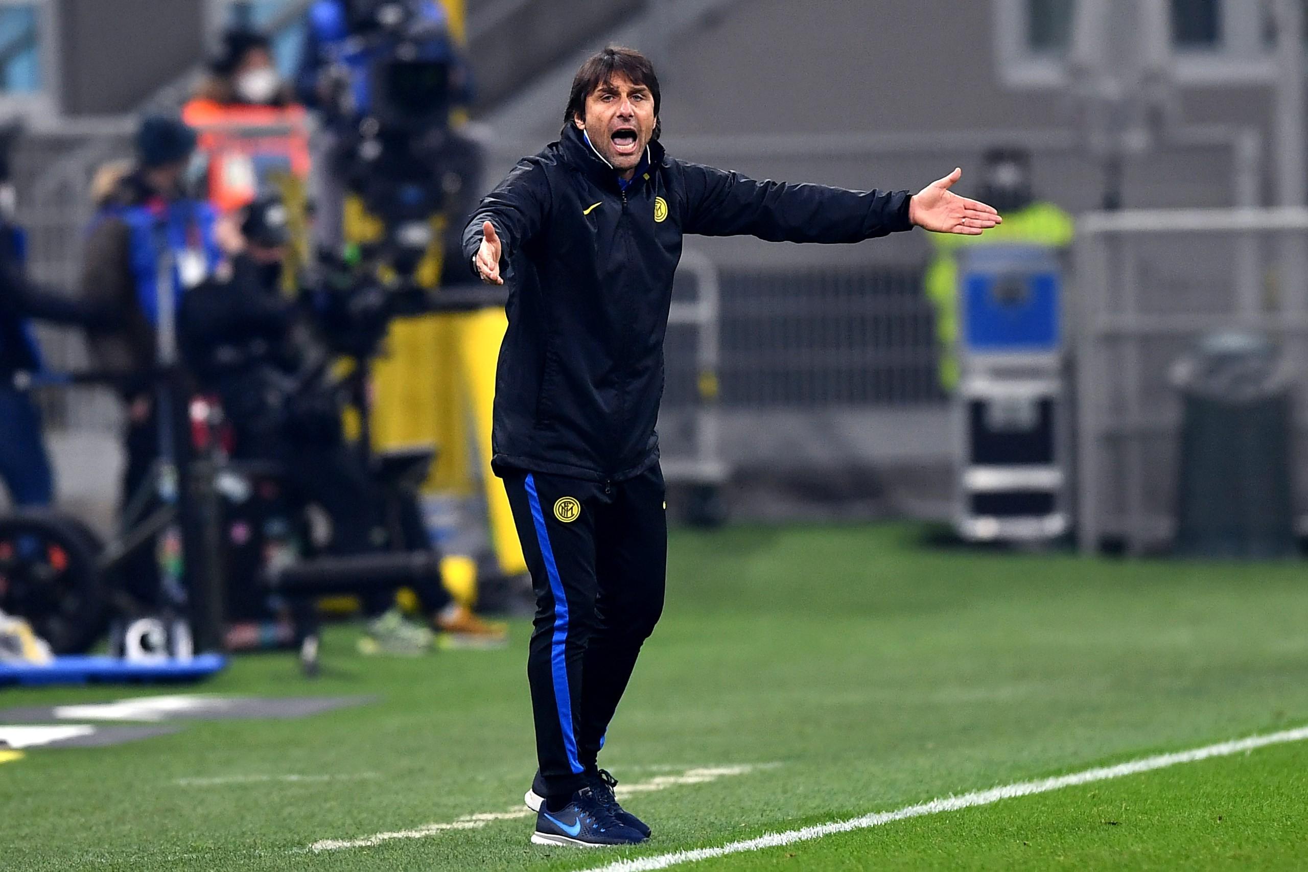 Inter, Conte esulta e rimpiange il mercato |  Sport e Vai
