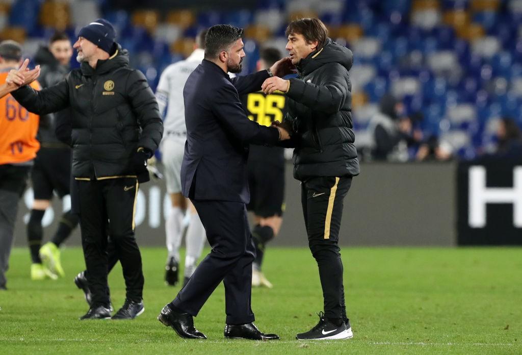 Inter-Napoli: Conte e Gattuso hanno sciolto i dubbi |  Sport e Vai