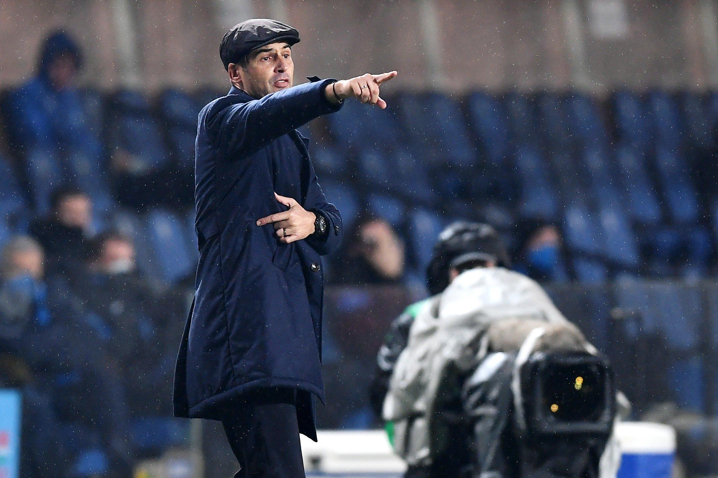 Roma, Fonseca non vuol più sentir parlare di Dzeko: Conta solo l'Udinese |  Sport e Vai