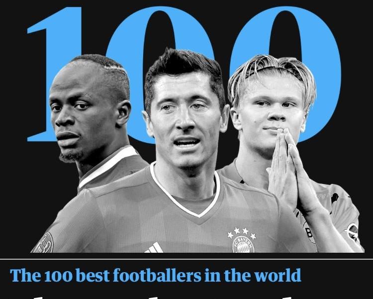 I 100 migliori del Guardian scatenano il web: Manca lui    Sport e Vai