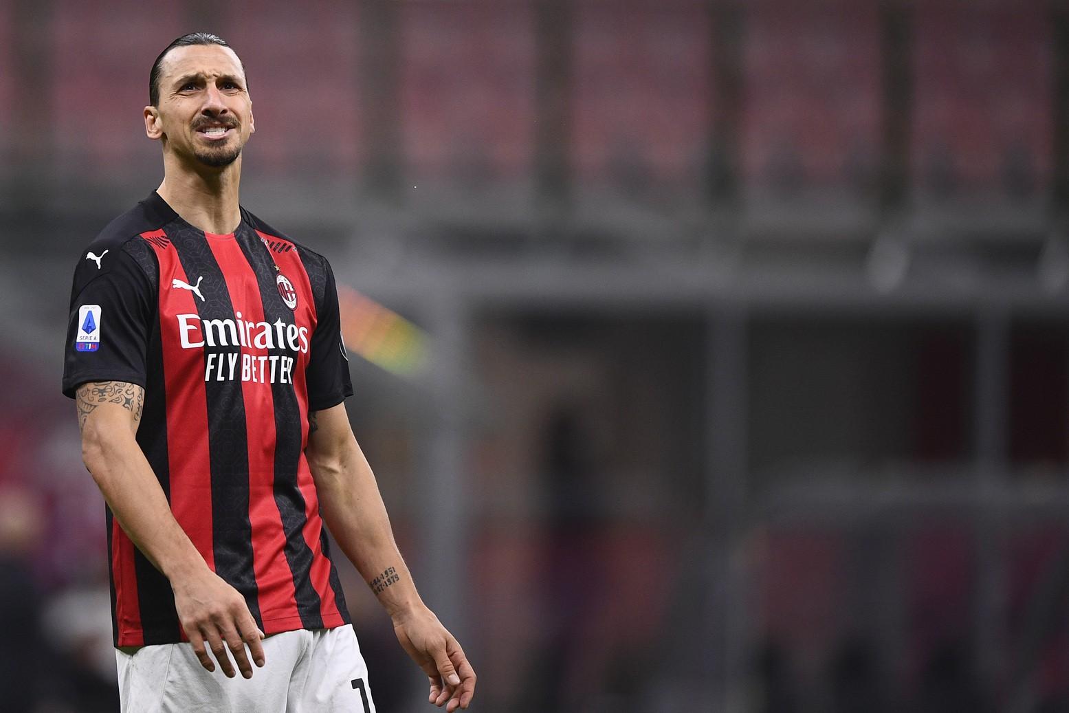 Gesto Ibra fa discutere i tifosi del Milan |  Sport e Vai