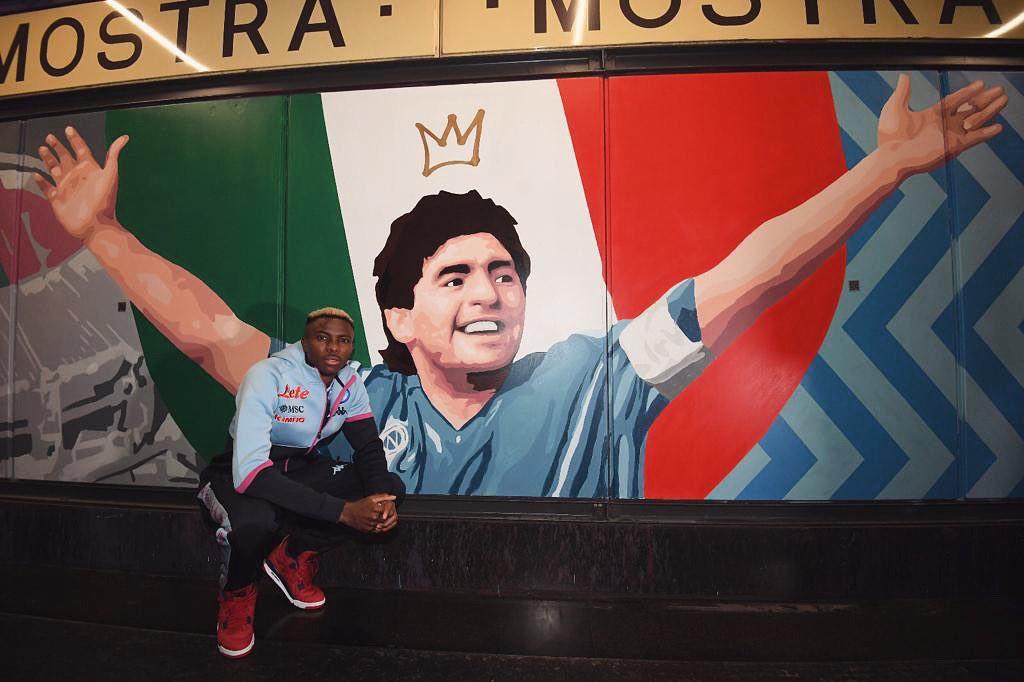 Il Napoli fa chiarezza su condizioni Osimhen |  Sport e Vai