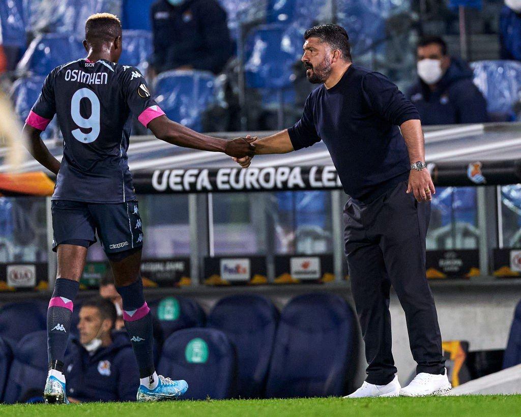 Medico Napoli fa chiarezza su problemi Osimhen e Gattuso |  Sport e Vai