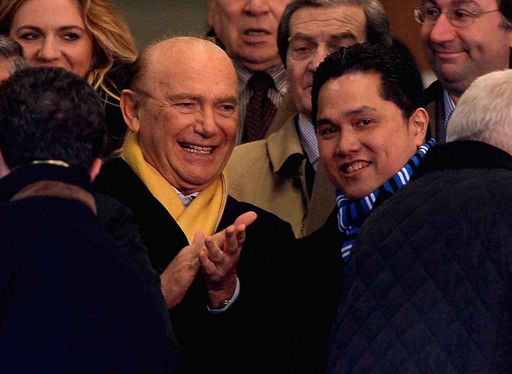 Ex presidente Inter: Ho avuto miglior bomber al mondo    Sport e Vai