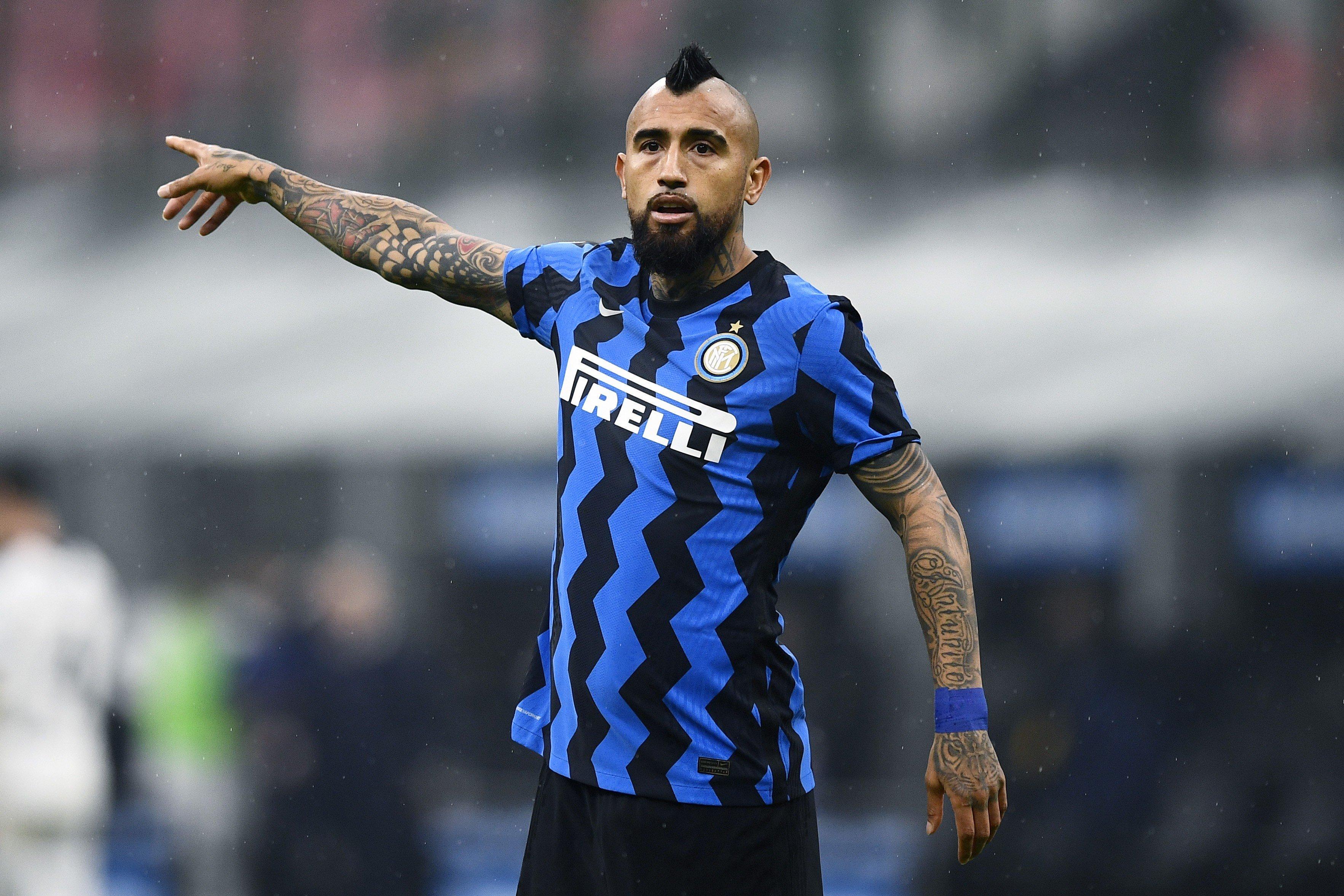 Inter, la felicità di Vidal al fischio finale |  Sport e Vai