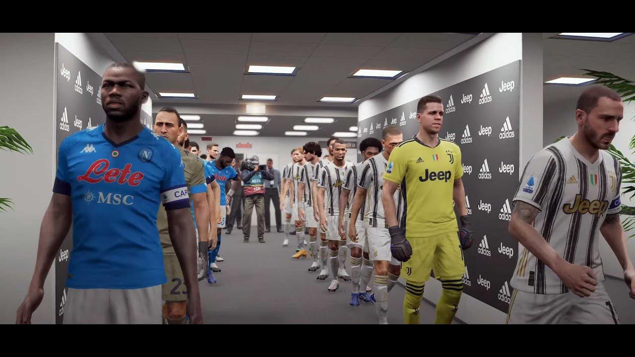 Come Pes o Fifa, così vedremo Juve-Napoli su Rai1 |  Sport e Vai