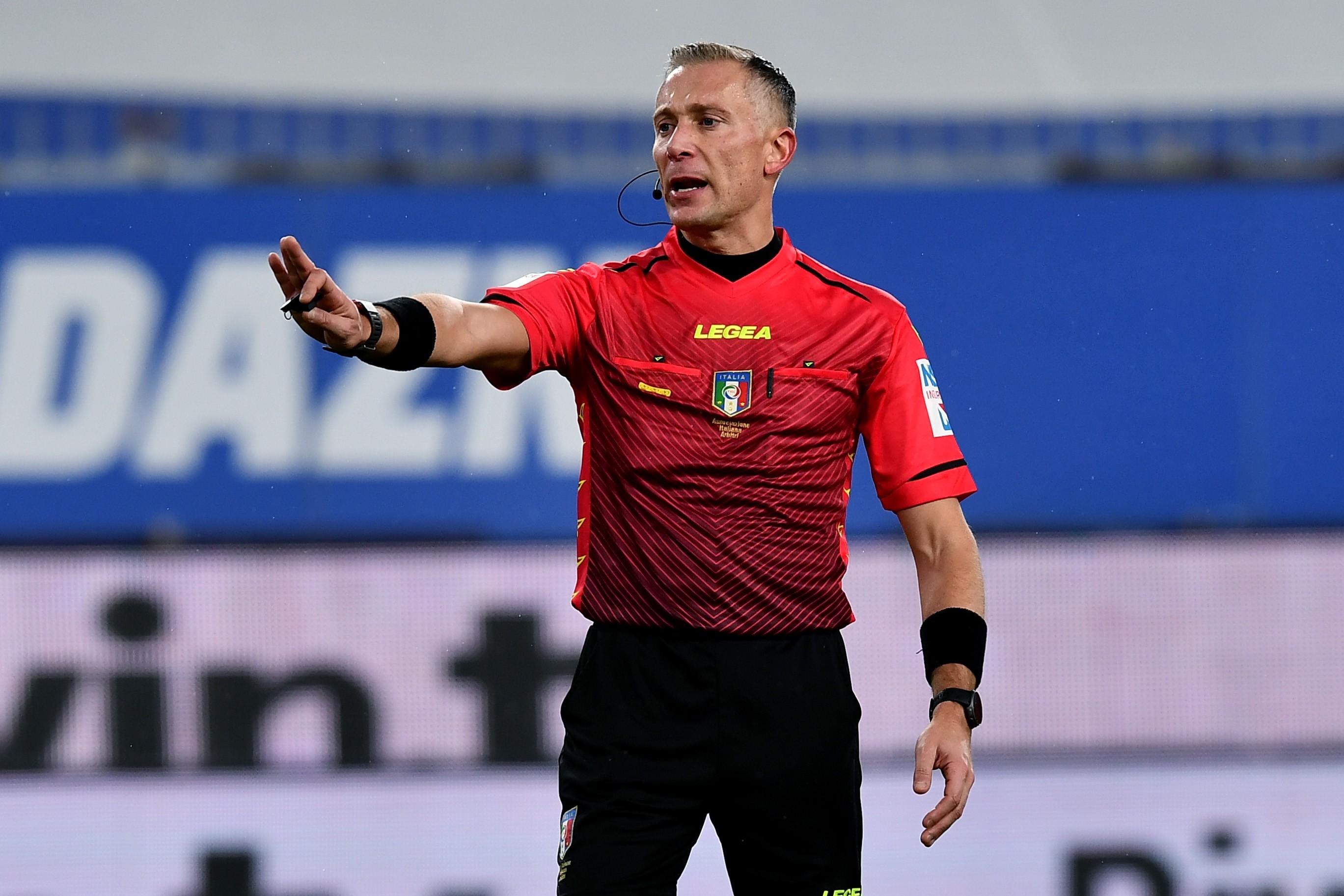 C.Italia: Gli arbitri di Juve-Inter e Atalanta-Napoli |  Sport e Vai