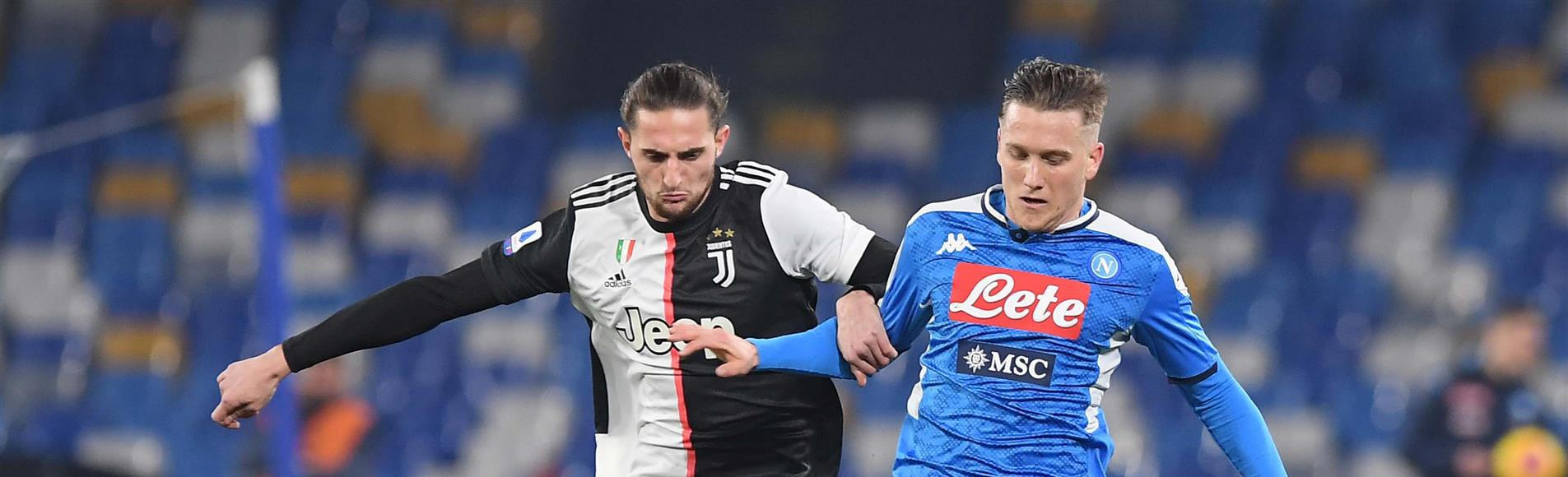 Napoli-Juventus, le formazioni ufficiali |  Sport e Vai
