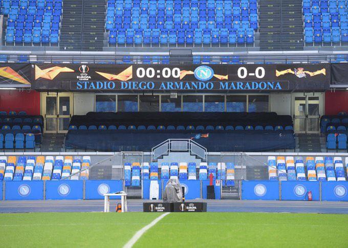 Napoli-Fiorentina, concreto il rischio rinvio |  Sport e Vai