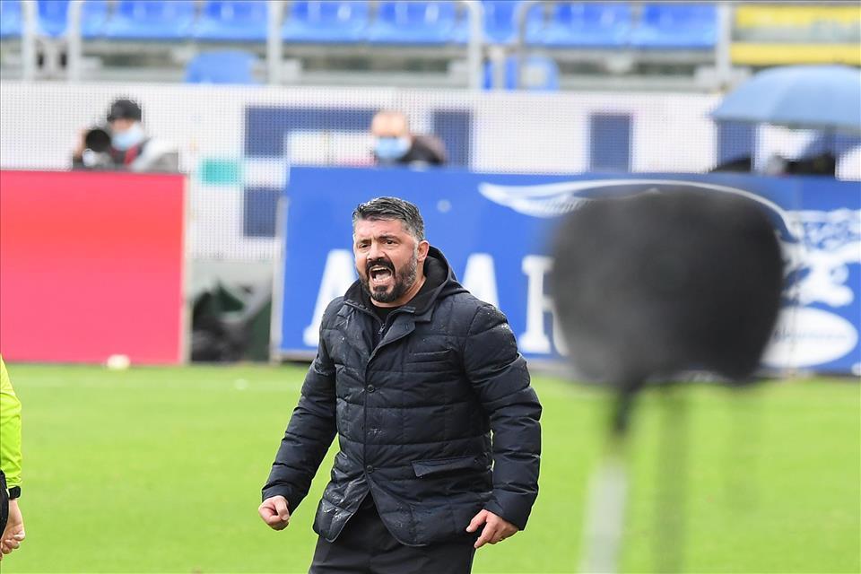 Napoli, Gattuso non si fida della Juve: Ma li avete visti? |  Sport e Vai