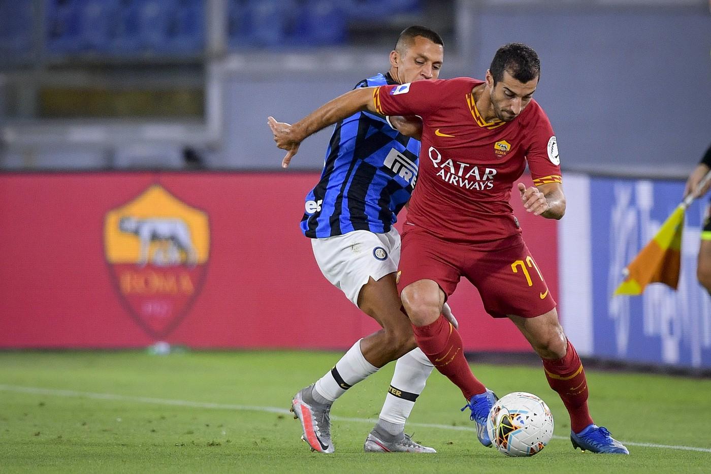 Roma-Inter, le formazioni ufficiali |  Sport e Vai