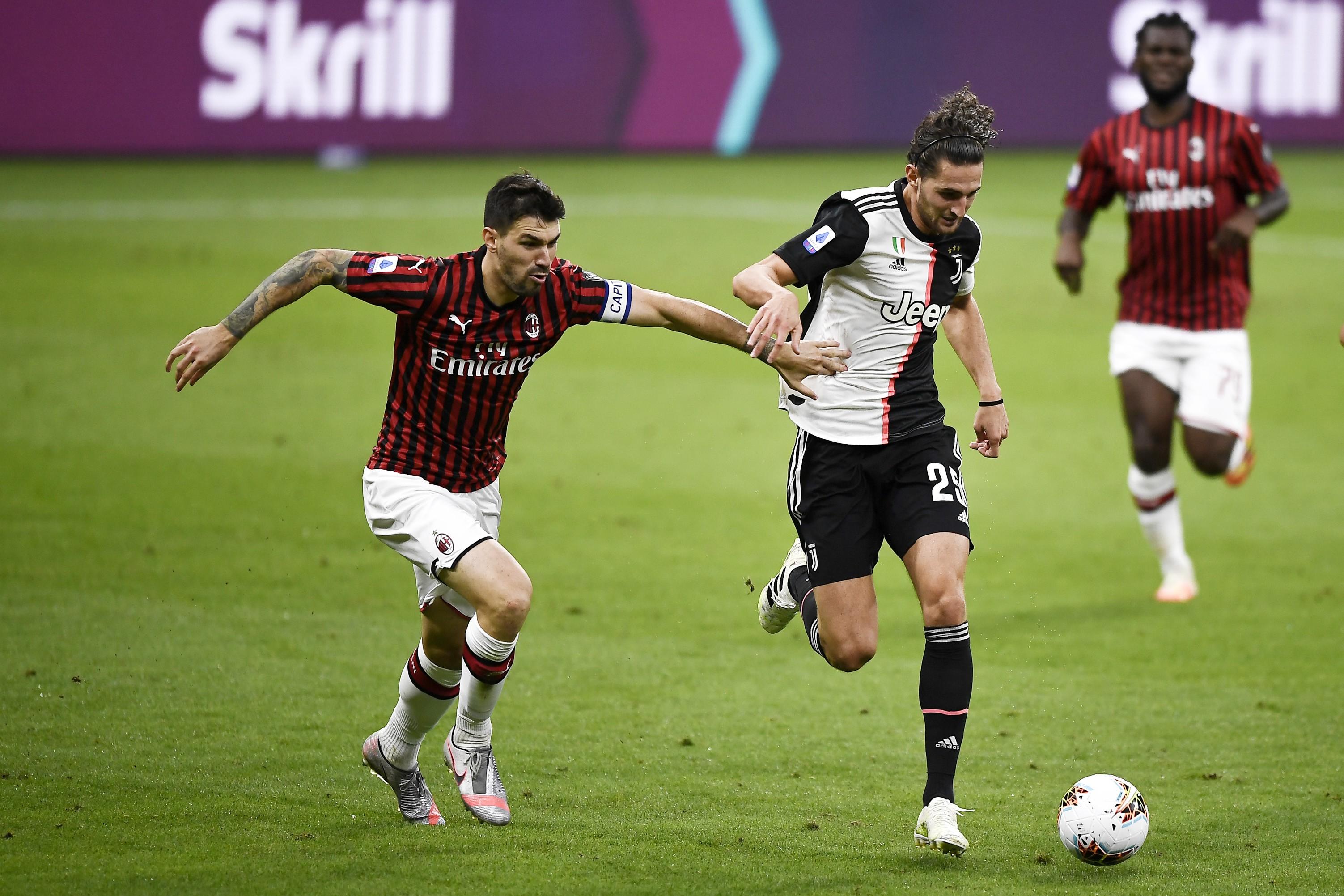 "Milan avanti, Romagnoli: ""Che bel regalo"" |  Sport e Vai"