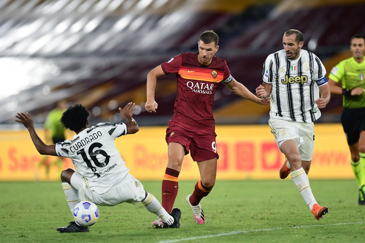 Dzeko capitano o no? A Roma si parla ancora della fascia |  Sport e Vai