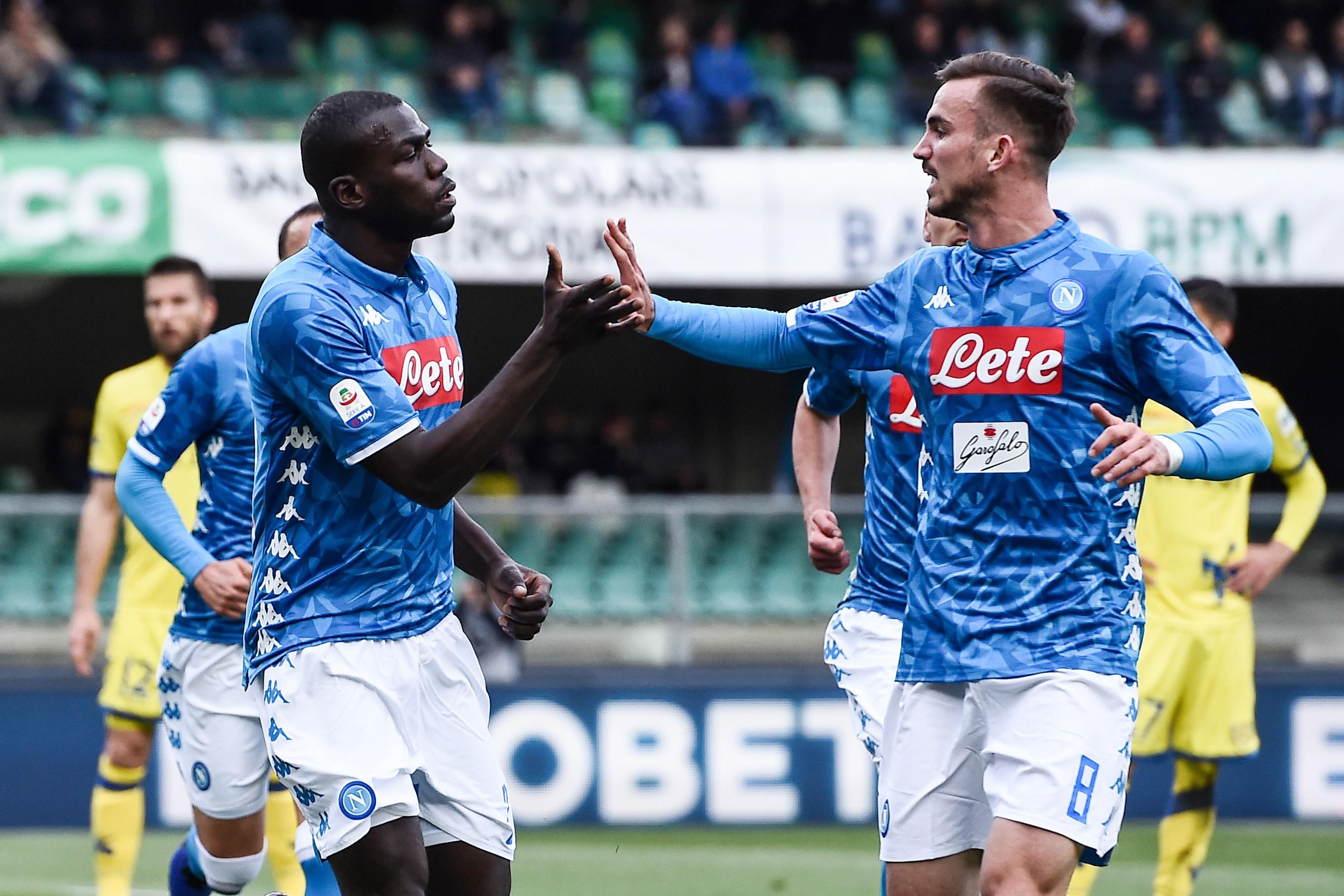 Napoli-Cagliari, le formazioni ufficiali |  Sport e Vai