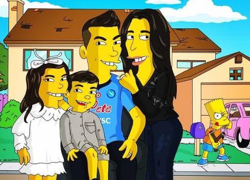 Che ci fa Lozano nei Simpson? |  Sport e Vai