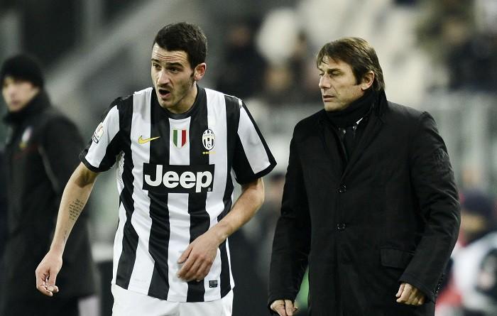 Juve-Inter, scintille Bonucci-Conte: Rispetta l'arbitro |  Sport e Vai