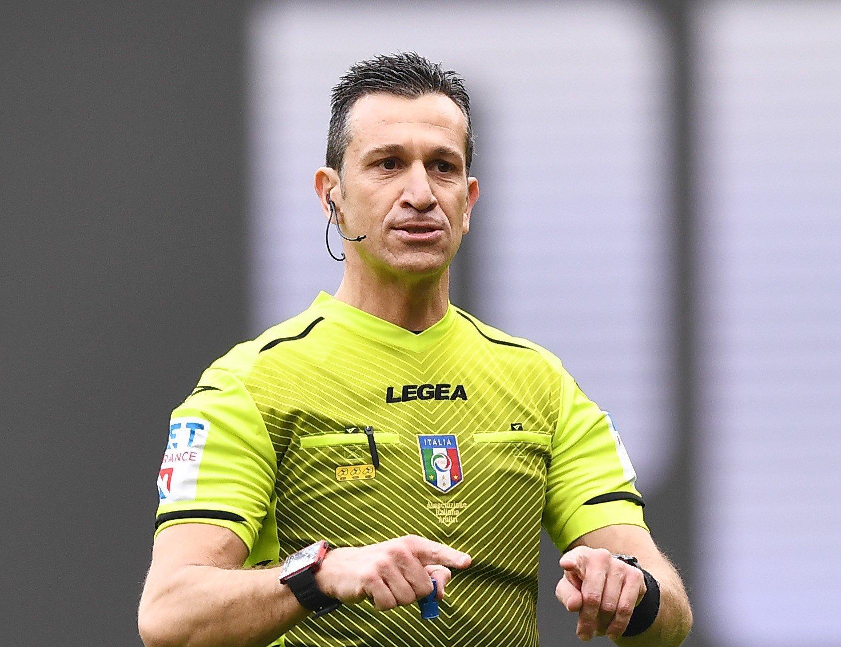 Il voto di Cesari a Doveri dopo derby Milan-Inter |  Sport e Vai