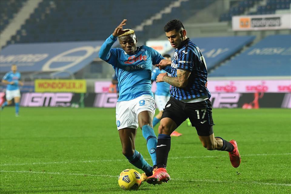 Il Napoli informa su condizioni Osimhen dopo gli esami |  Sport e Vai