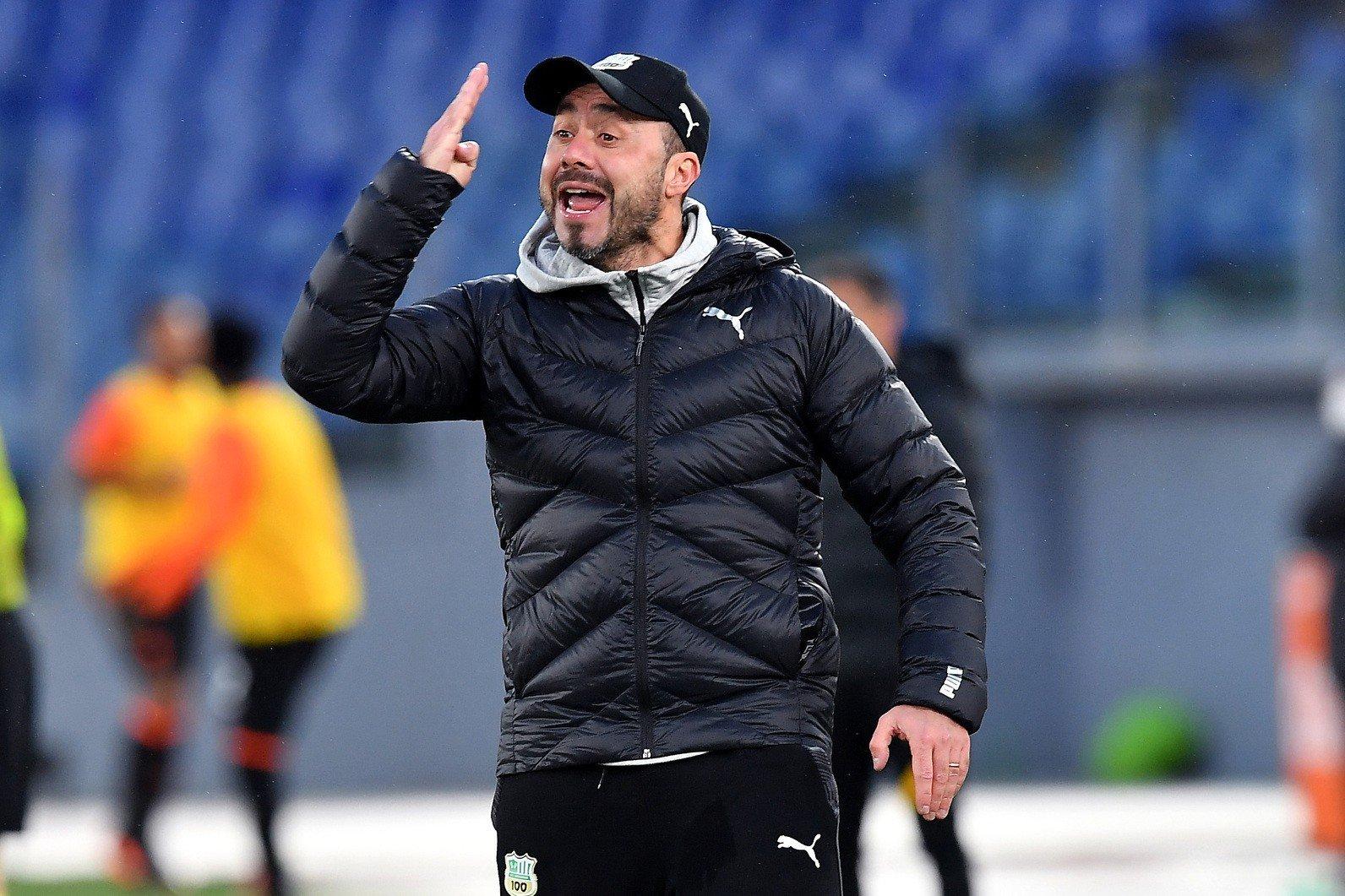 "Sassuolo-Napoli, De Zerbi: ""Ho pensato alle parolacce"" |  Sport e Vai"