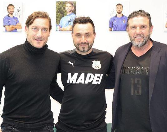 Web in tilt: Totti e Candela in missione per la Roma?  |  Sport e Vai