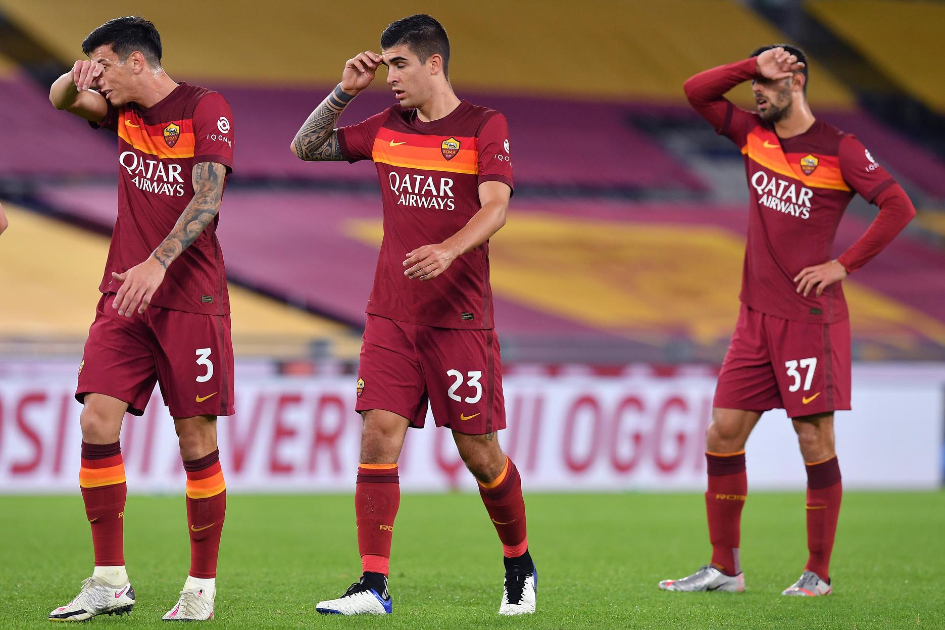 Cinque giocatori della Roma nella rosa ideale dell'Europa League |  Sport e Vai