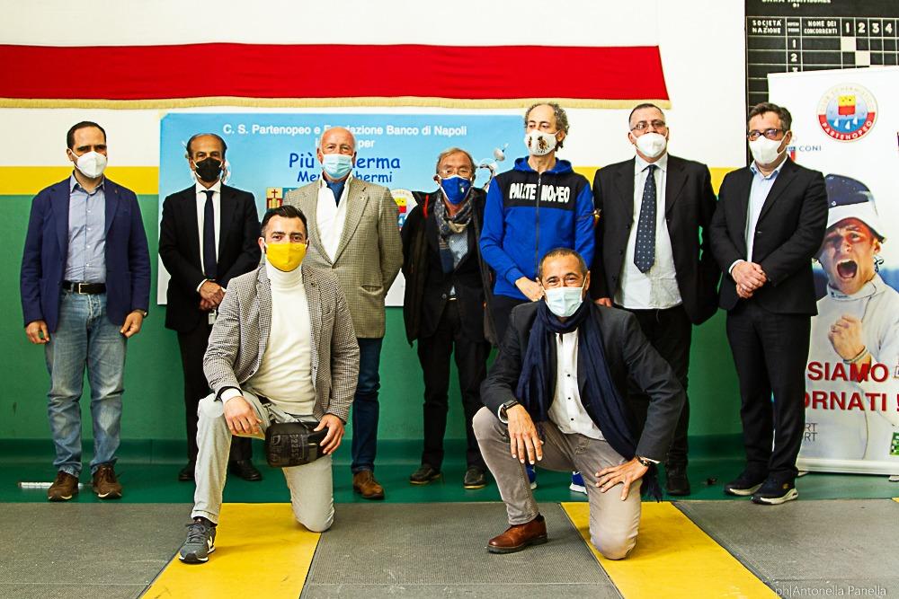 Più scherma meno schermi al via: a Napoli il polo per l'attività integrata |  Sport e Vai