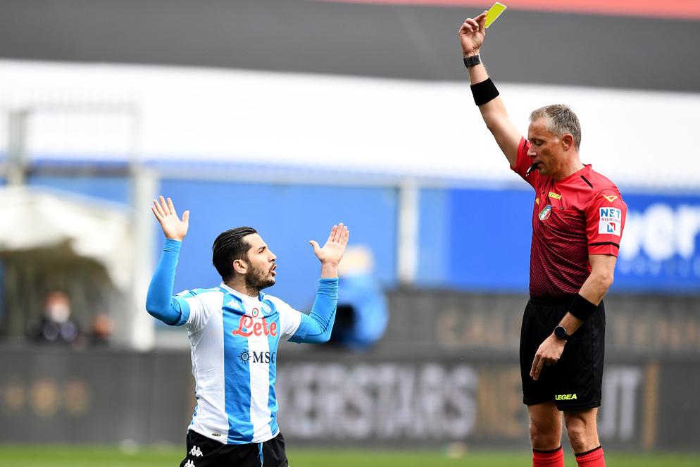 Gol Samp al Napoli regolare prima di intervista Rizzoli |  Sport e Vai